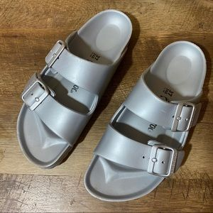 Birkenstock Arizona Eva Silver Waterproof Sandals